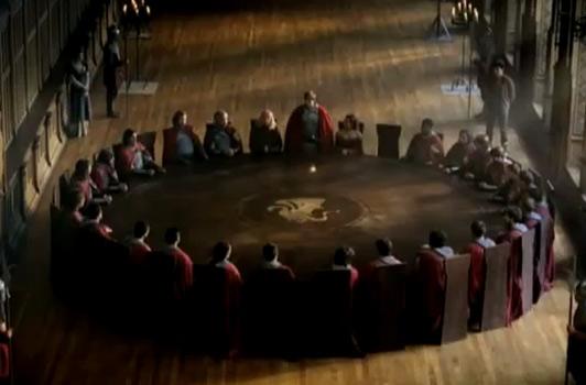 Arthur merlin la table ronde et la fin de camelot my - Dessin anime chevalier de la table ronde ...